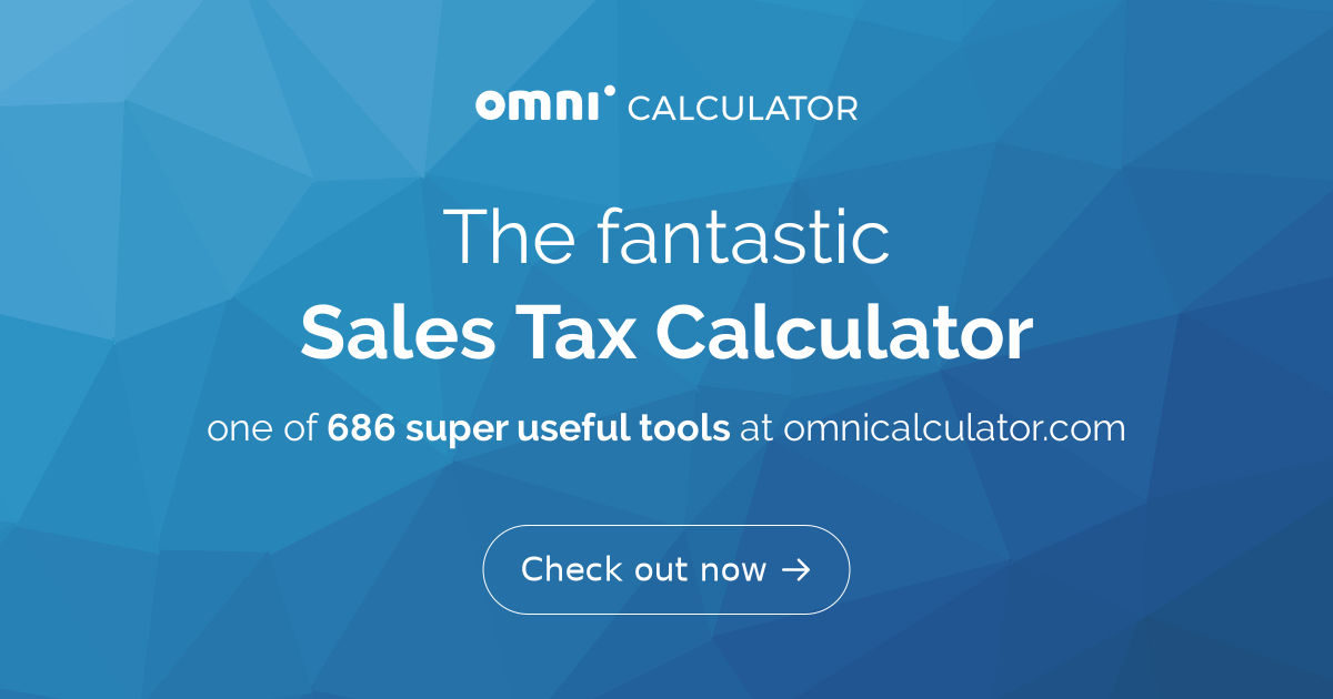 sales tax calculator omni