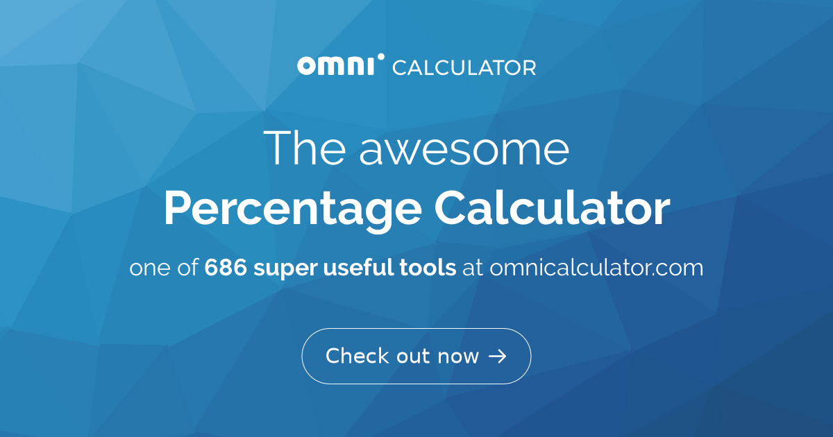 percentage calculator omni