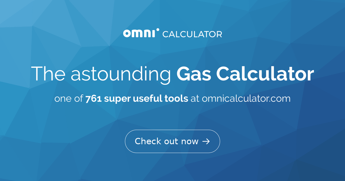 gas calculator