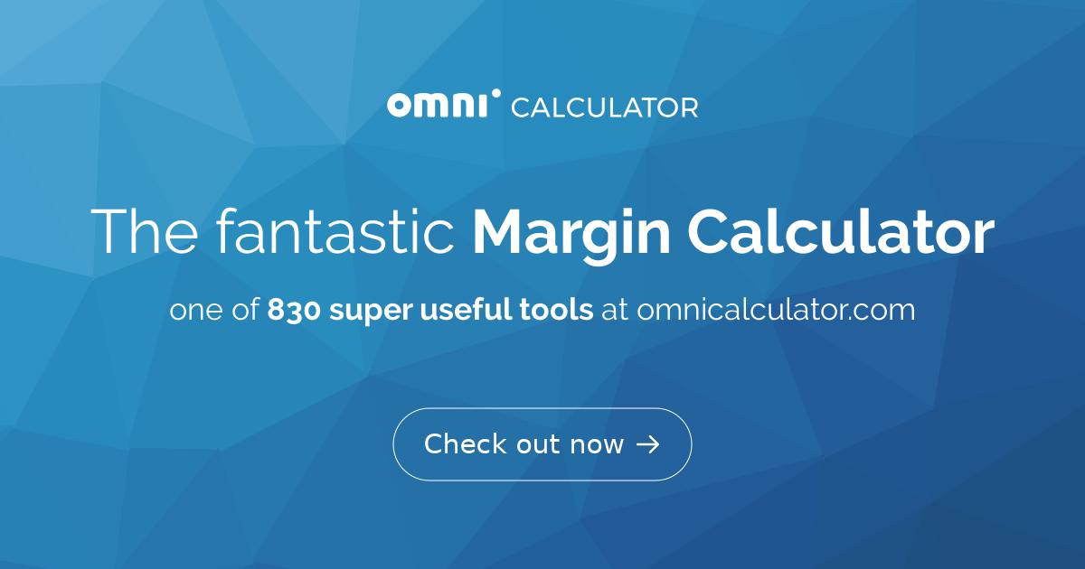 Margin Calculator - Omni