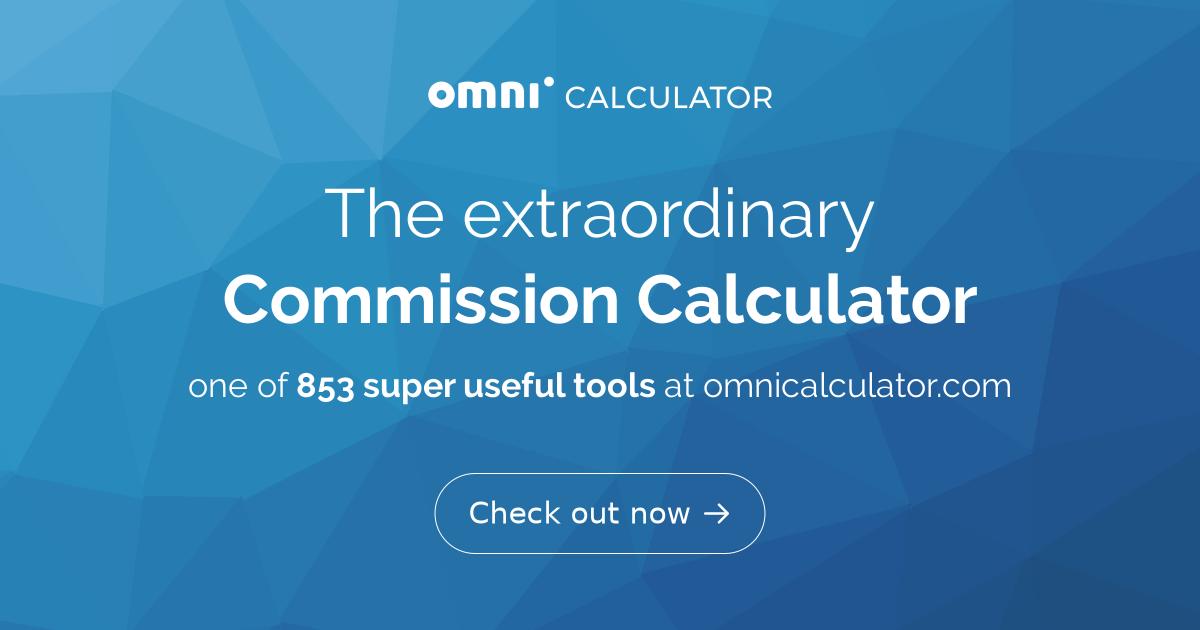 Commission Calculator - Omni
