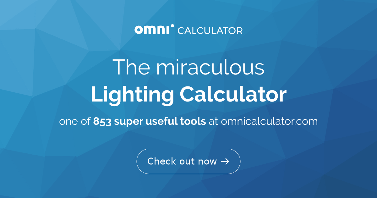 Lighting Calculator - Omni