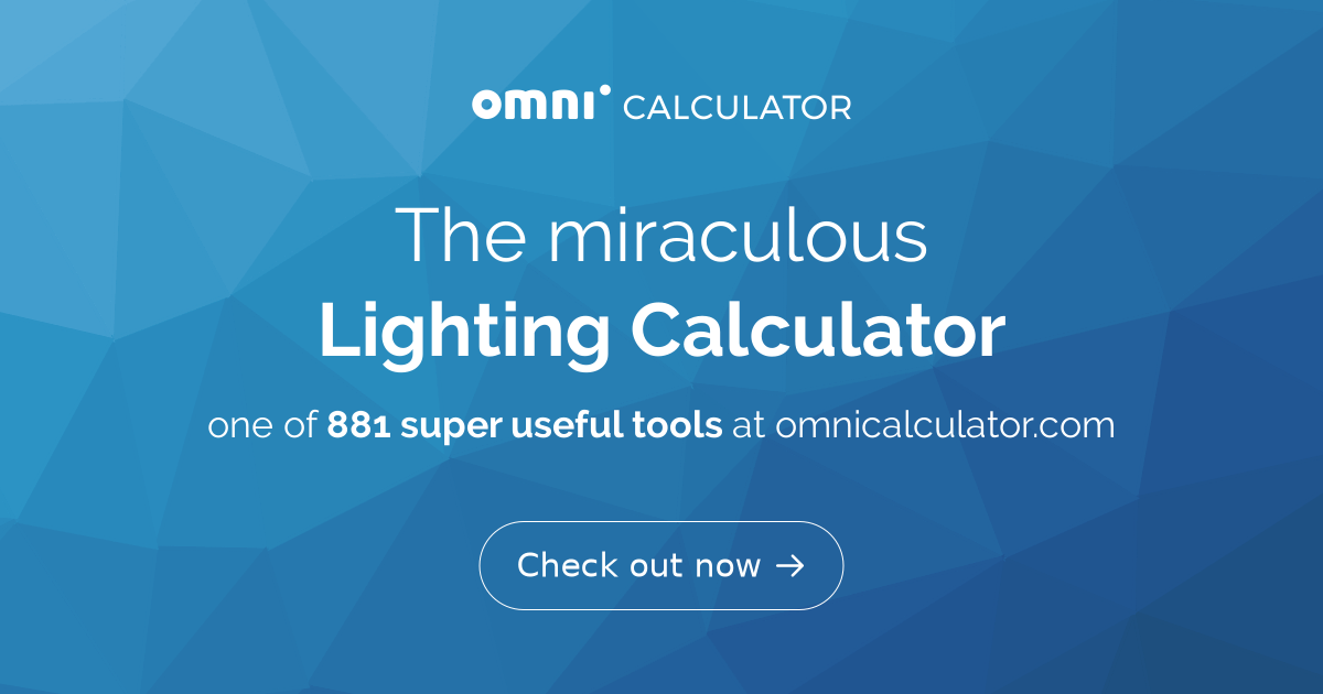 Lighting Calculator Omni